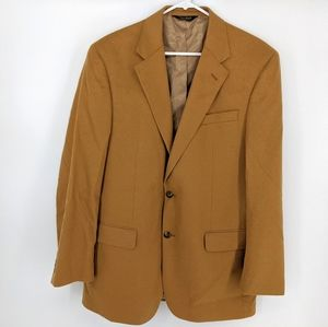 Jos A Bank Men's 100% Cashmere Blazer Jacket